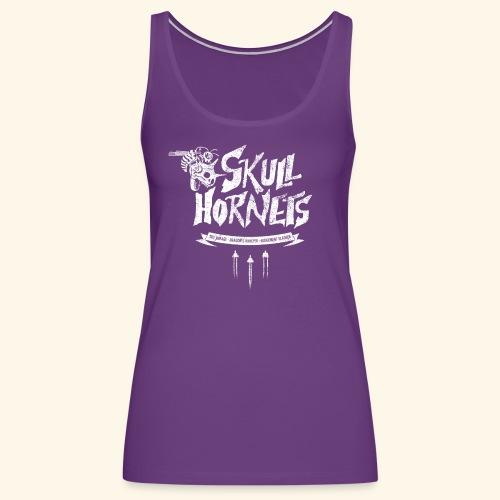 skull hornets - Women's Premium Tank Top