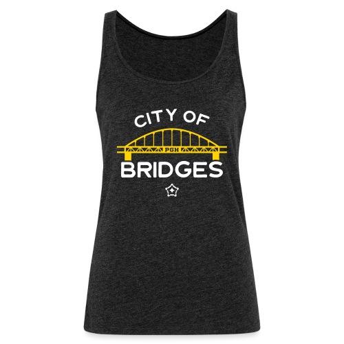 Pittsburgh City Of Bridges - Women's Premium Tank Top