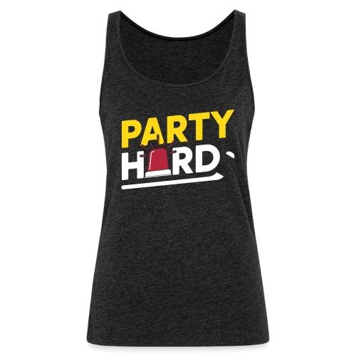 party hard 2018 - Women's Premium Tank Top