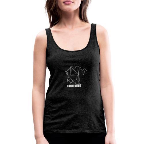Anahnumus Logo - whitenobg - Women's Premium Tank Top