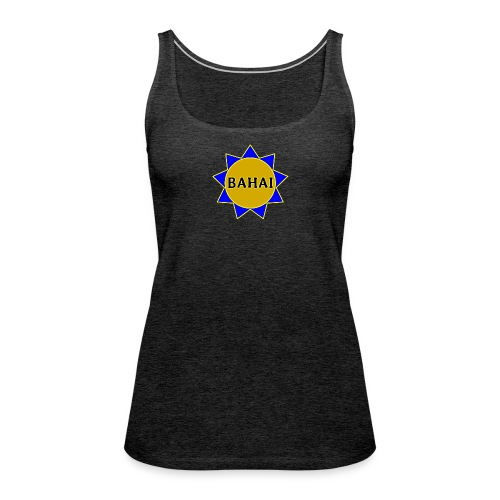 Bahai star - Women's Premium Tank Top
