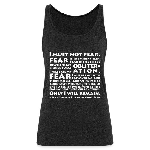 Litany Against Fear - Women's Premium Tank Top