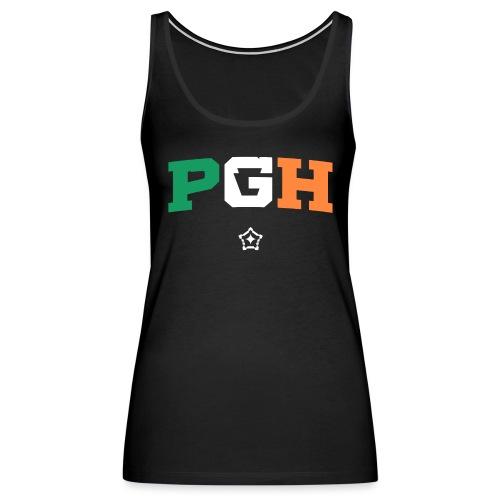 Block PGH - Irish Flag - Women's Premium Tank Top