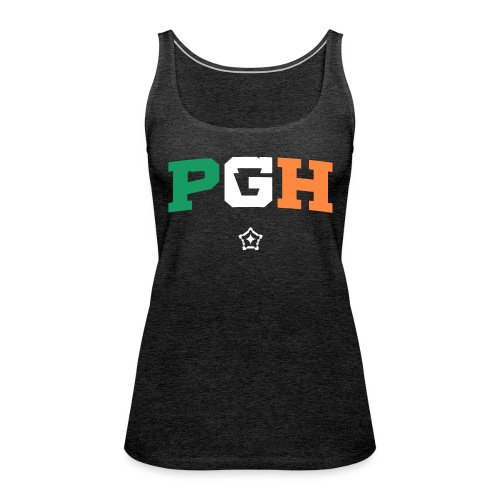 Block PGH - Irish Flag - Women's Premium Tank Top