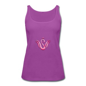 Queen Swan - Women's Premium Tank Top