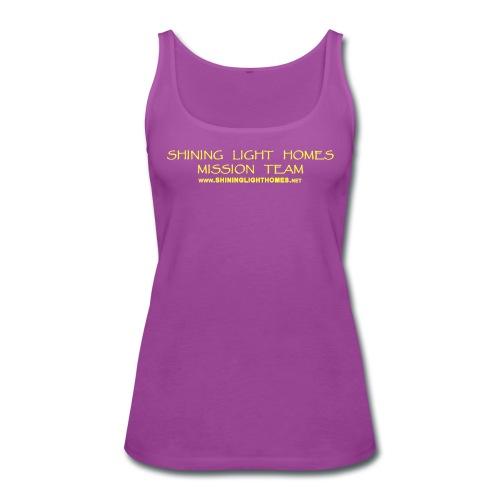 SLHmissionyellow2 - Women's Premium Tank Top