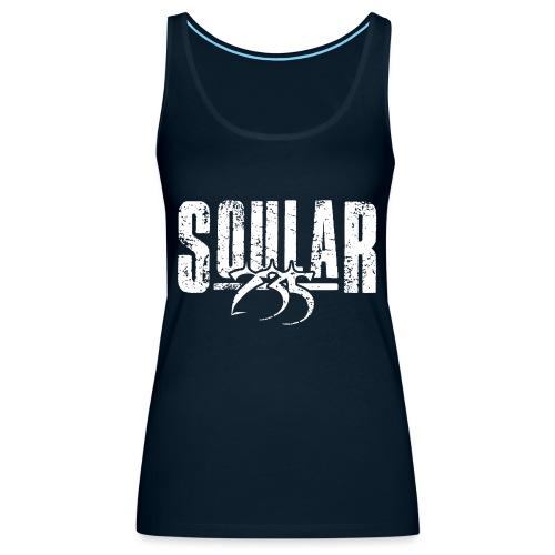 Soular235 White Logo - Women's Premium Tank Top