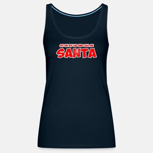 Sit on my lap and call me santa