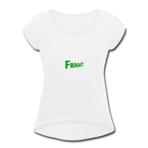 FROGGY - Women's Roll Cuff T-Shirt