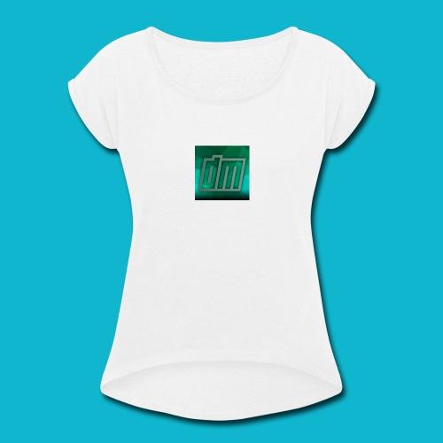 Daymatter merch - Women's Roll Cuff T-Shirt