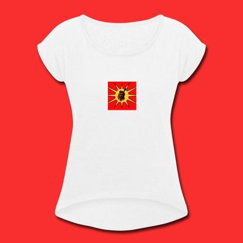 RED-WARRIORS - Women's Roll Cuff T-Shirt