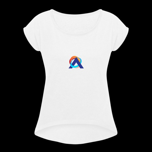 Afterlife Research Agency - Women's Roll Cuff T-Shirt