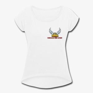 THS Spirit Helmet - Women's Roll Cuff T-Shirt