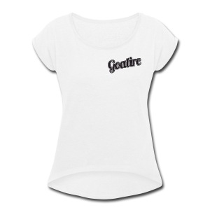 Goatire.com - Women's Roll Cuff T-Shirt