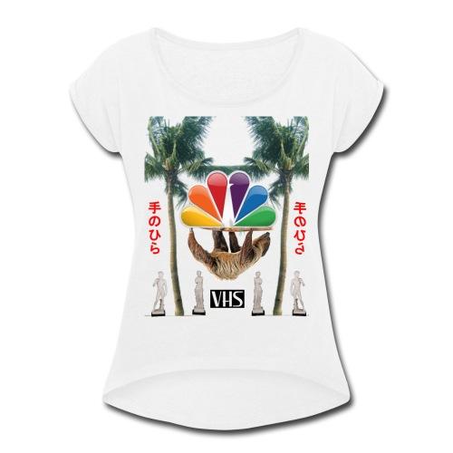 空のデータ - Women's Roll Cuff T-Shirt