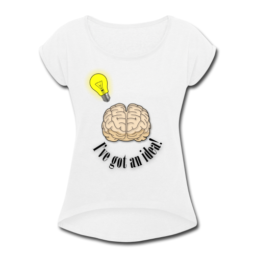 Brainstorm - Women's Roll Cuff T-Shirt
