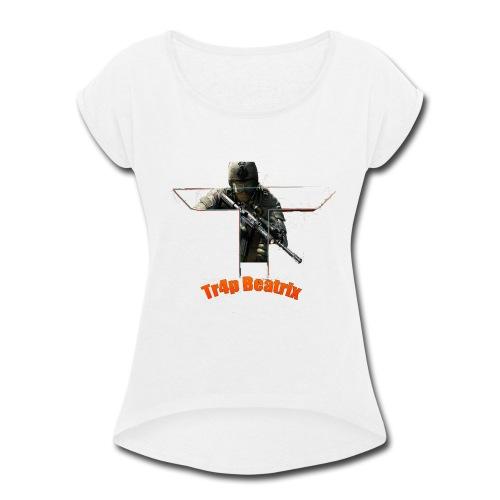 Beatrix shirt - Women's Roll Cuff T-Shirt