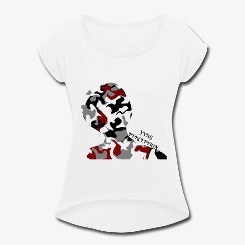 CAMO - Women's Roll Cuff T-Shirt
