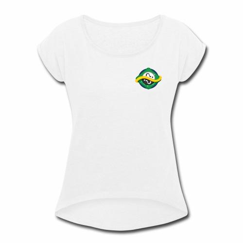 IgnorantSam - Women's Roll Cuff T-Shirt