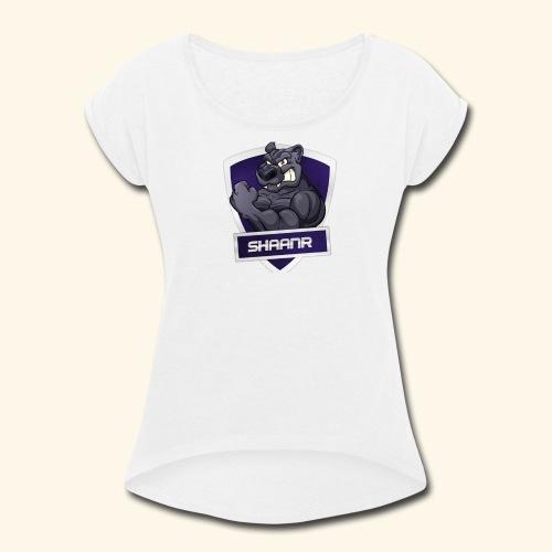 SHAAN X WOLFY - Women's Roll Cuff T-Shirt