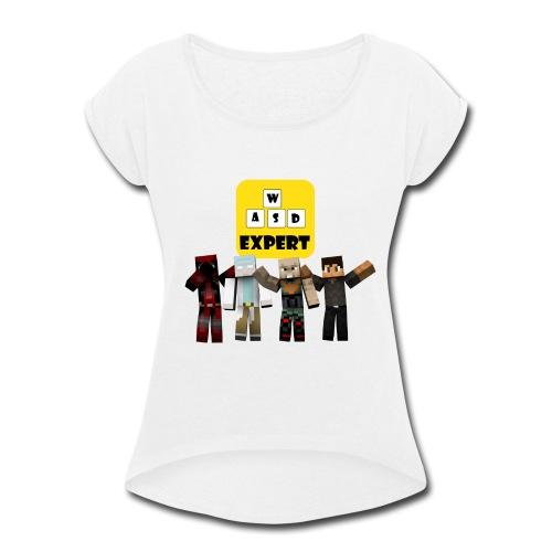 Team WASD - Women's Roll Cuff T-Shirt