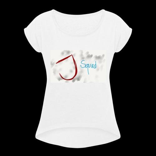 J Squad - Women's Roll Cuff T-Shirt