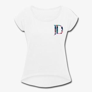 DakeJeitz 2.0 - Women's Roll Cuff T-Shirt