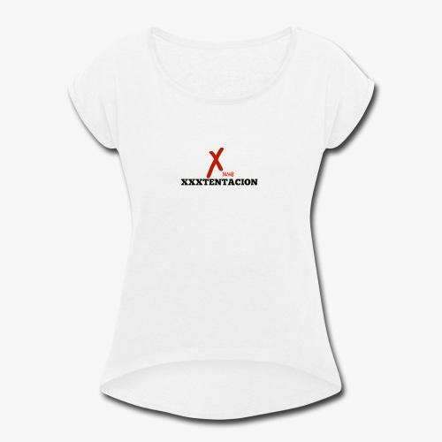 New XXXTENTACION Merch - Women's Roll Cuff T-Shirt