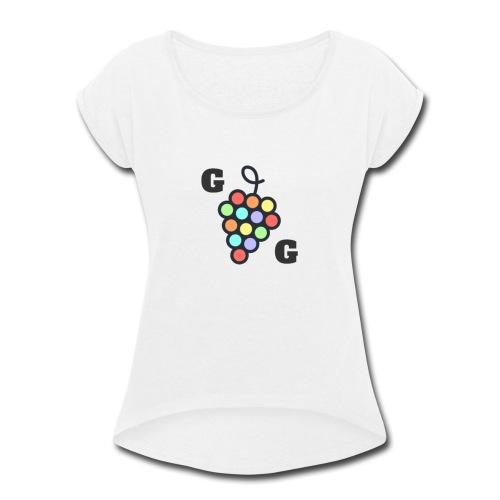 Gay Grapes - Women's Roll Cuff T-Shirt