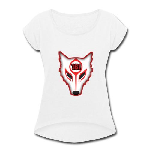 YouTube Logo - Women's Roll Cuff T-Shirt