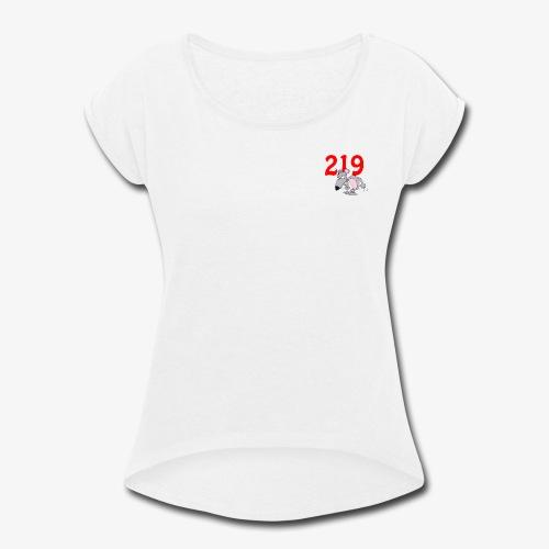 Region Rat - Women's Roll Cuff T-Shirt