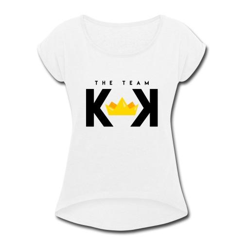 THE KEK TEAM - Women's Roll Cuff T-Shirt