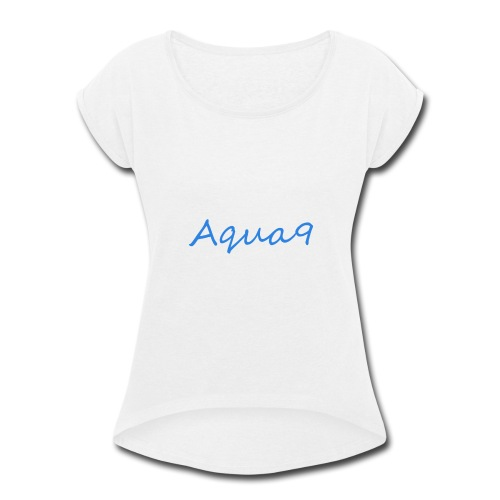 Brand Logo - Women's Roll Cuff T-Shirt