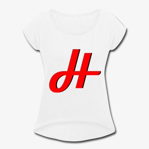 The Humaway Collection - Women's Roll Cuff T-Shirt