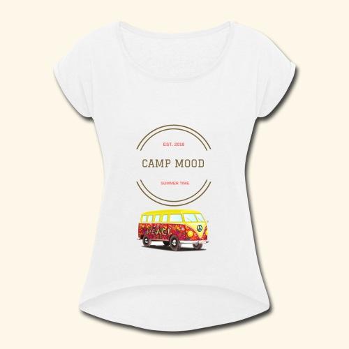 Summer T-shirt - Women's Roll Cuff T-Shirt