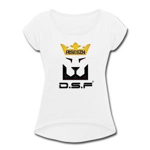 RISESZN - Women's Roll Cuff T-Shirt