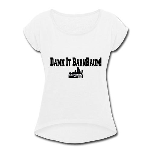 DIBBlogo - Women's Roll Cuff T-Shirt