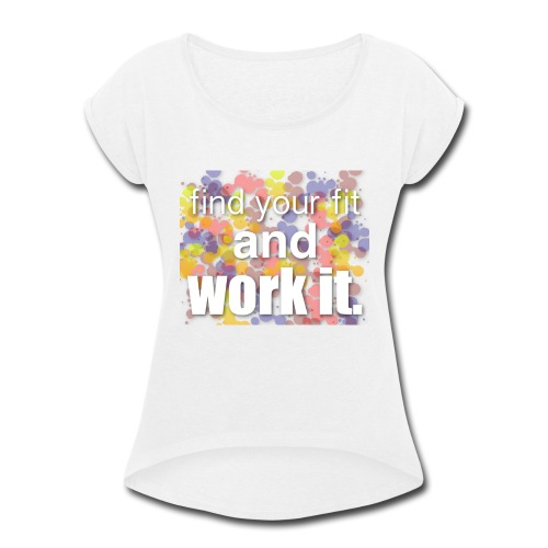 color - Women's Roll Cuff T-Shirt