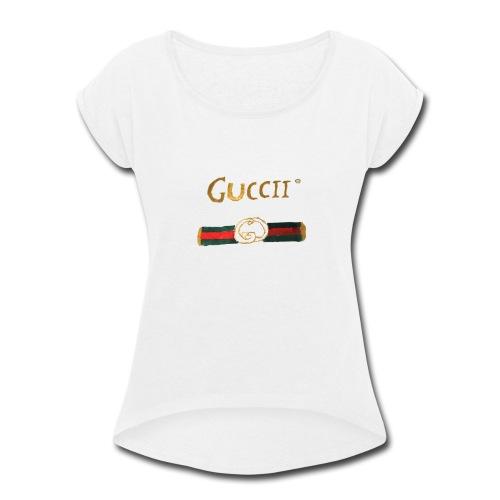 GUCCII - Women's Roll Cuff T-Shirt