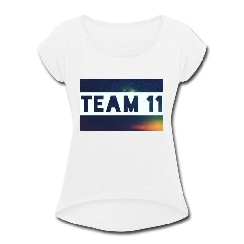 Custom merch - Women's Roll Cuff T-Shirt