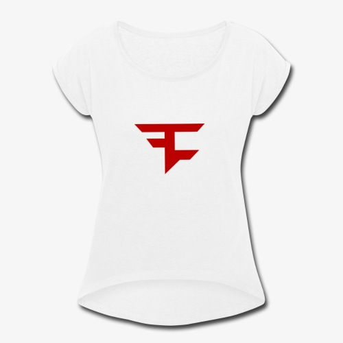 Faze - Women's Roll Cuff T-Shirt