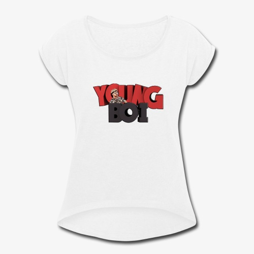 Young12Boi - Women's Roll Cuff T-Shirt
