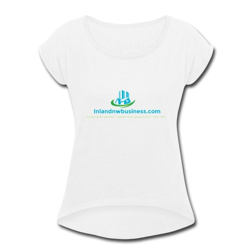 IMG 0483 - Women's Roll Cuff T-Shirt