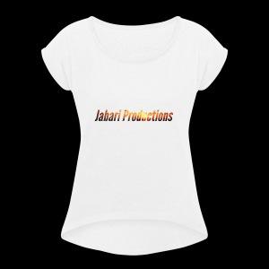 Sunset Jabari Prodcutions - Women's Roll Cuff T-Shirt