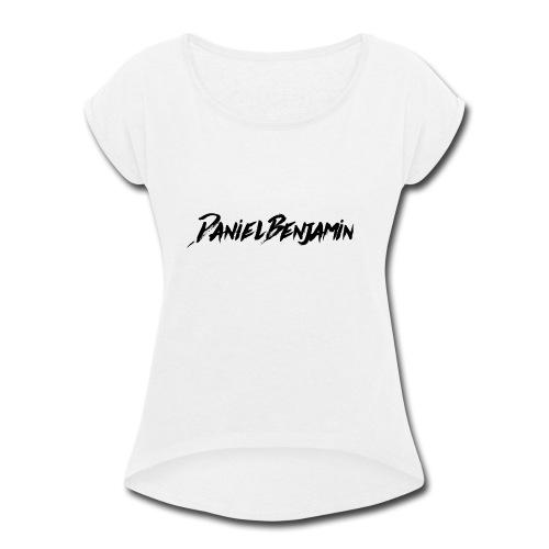 newmerchlogo - Women's Roll Cuff T-Shirt