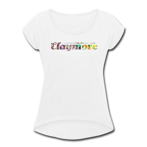 Claymore Attire [G1] - Women's Roll Cuff T-Shirt
