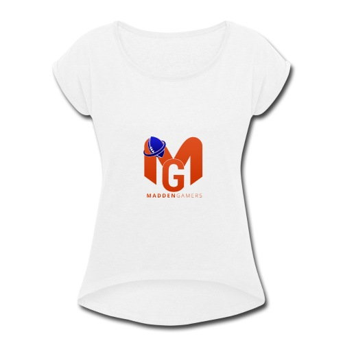 MaddenGamers MG Logo - Women's Roll Cuff T-Shirt