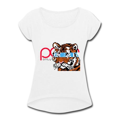 mokky - Women's Roll Cuff T-Shirt