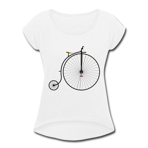 It was a time - Women's Roll Cuff T-Shirt