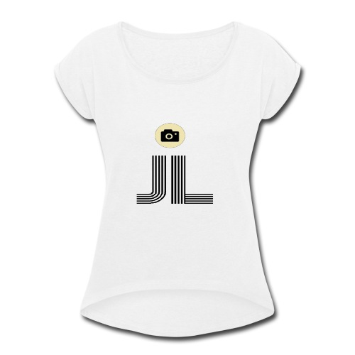 james vlog - Women's Roll Cuff T-Shirt